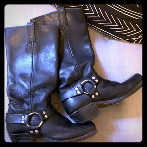 Frye Harness Boots in 15R, Black, Size 8.5